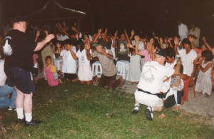 People coming to Jesus on the island of Bohol, Philippines.